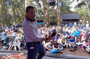 Dermot took his BBC Radio 2 Saturday Breakfast show to the Latitude Festival